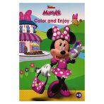 Disney Minnie Egér színező mintával - Kiddo