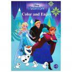 Disney Jégvarázs színező mintával - Kiddo