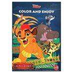 Disney Oroszlánõrség színezõ mintával Kiddo
