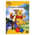 Disney Micimackó színező mintával - Kiddo