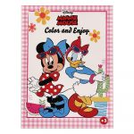 Disney Minnie Egér színező Kiddo