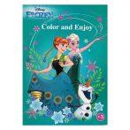 Disney Jégvarázs színezõ - Kiddo