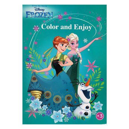 Disney Jégvarázs színező - Kiddo