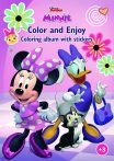Minnie Mouse színezés és szórakozás füzet Kiddo