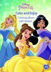 Disney Hercegnők matricás színező Kiddo