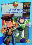 Toy Story 4 matricás színező füzet Kiddo
