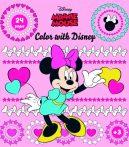 Minnie egér mandala színező Kiddo