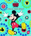 Mickey egér mandala színező füzet Kiddo