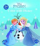 Frozen színező füzet Kiddo