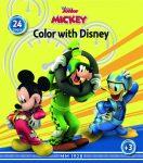 Mickey egér színező füzet Kiddo