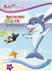 Lépésről lépésre színező - Tengerpart- Kiddo Books
