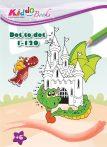 Mágikus sárkányok pontról-pontra színezõ Kiddo Books
