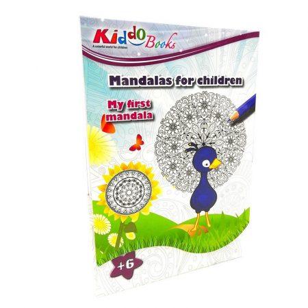 Elsõ mandala színezõm Kiddo Books