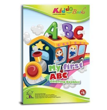 Az első ABC-m, fejlesztő színező kisiskolásoknak Kiddo Books