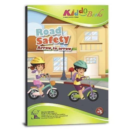 Lépésről lépésre színező - Biztonságos közlekedés - Kiddo Books