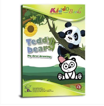 Mackó bocsok - Első színezőm - Kiddo Books