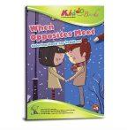 Ellentétek találkozása Színező füzet ovisoknak Kiddo Books