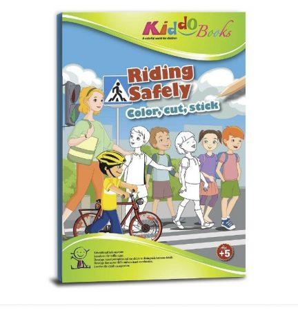 Közlekedj okosan foglakoztató Kiddo Books