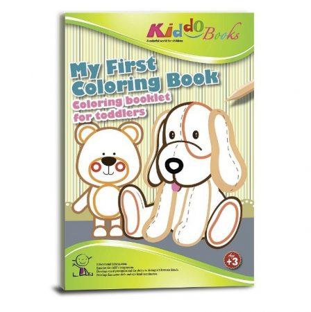 Színező tipegő Első színező könyvem Kiddo Books