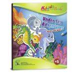 Színezz! Vágj! Ragassz! Tengeri kalandok foglalkoztató Kiddo Books