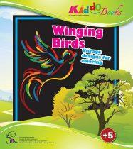 Madarak - Vitrage színező - Ablakdísz készítő Kiddo Books