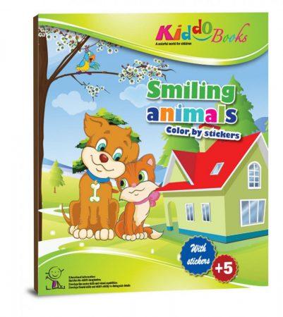 Állatos színező matricákkal - Kiddo