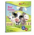 Matricás színezõ füzet Farm Kiddo Books
