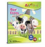 Matricás színező füzet Farm Kiddo Books