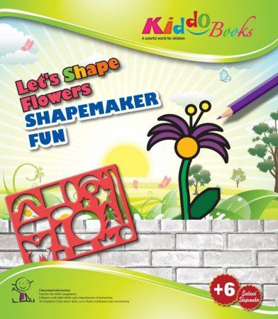 Készíts virágokat sablonos foglalkoztató füzet Kiddo Books.ÚJ