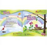 Matricás színező füzet Repülés Kiddo Books