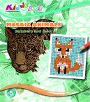 Állatos mozaik szám szerinti színező füzet Kiddo