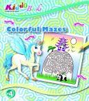 Színes labirintusok foglalkoztató füzet Kiddo