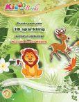 Erdei Állatok 3D csillogó képek foglalkoztató Kiddo Books