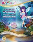 Tündérek világa 3D csillogó képek foglalkoztató Kiddo Books