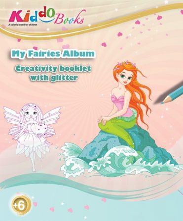 Csillámos Tündérek foglalkoztató Kiddo Books