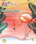 Csillámos Flamingók foglalkoztató Kiddo Books