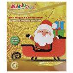 Karácsonyi színező ajándék készítő album Kiddo