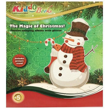 Karácsonyi színező - Hóember Kiddo