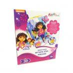 Dóra és Barátai 3D Képkészítő 7008 Kiddo Books