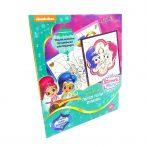 Shimmer & Shine Szám szerinti színező 7009 Kiddo Books