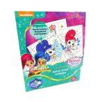 Shimmer & Shine Szám szerinti színező 7010 Kiddo Books