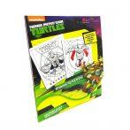 Tini Ninja Teknőc Szám szerinti színező 7012 Kiddo Books