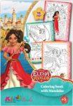 Elena, Avalon hercegnője színező - Kiddo