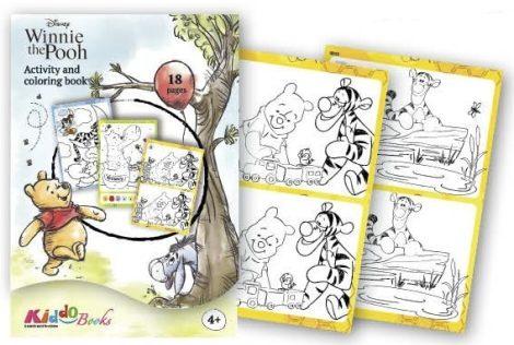 Mici Mackó foglalkoztató füzet Kiddo Books