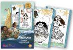 Vaiana színező Kiddo Books