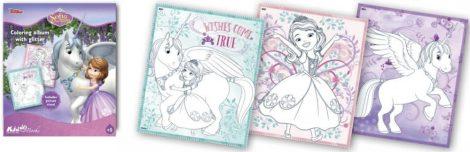 Szófia Hercegnő csillámos foglalkoztató Kiddo Books