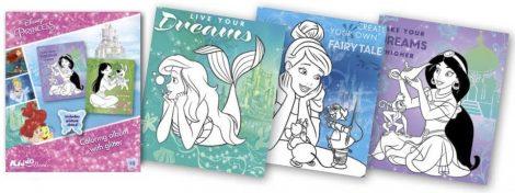 Disney Hercegnők csillámos foglalkoztató Kiddo Books