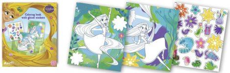 Aranyhaj foglalkoztató füzet glitteres matricákkal Kiddo Books