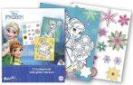 Jégvarázs foglalkoztató füzet glitteres matricákkal Kiddo Books