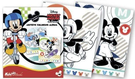 Mickey Egér színezz számok szerint foglalkoztató Kiddo Books
